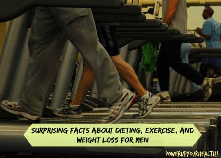 Surprising facts about dieting, exercise, and weight loss for men