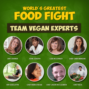 World's Greatest Food Fight - Team Vegan Experts