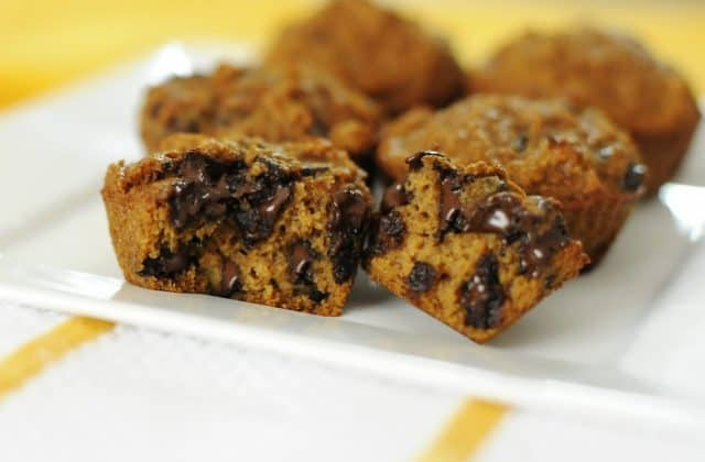 Stir It Up's Chocolate Chip Pumpkin Muffins