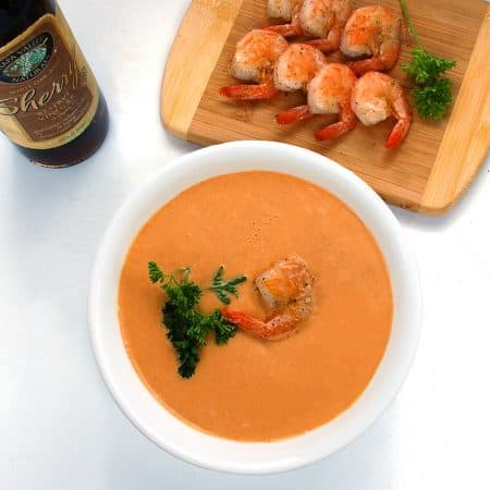 Seagan Eating's Shrimp Bisque Recipe