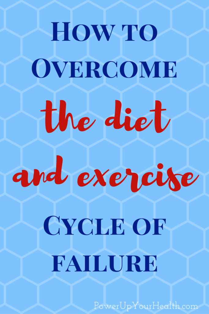 How to Overcome the Diet and Exercise Cycle of Failure